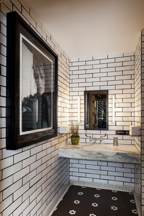 Very best Light Tile, Dark Grout | Designs By Katy LA54